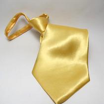 Gravata Amarelo Brilhante - Casamento, Bodas, Festa E Brinde