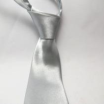 24 Pçs Gravata Prata - Padrinhos Casamento Bodas Frete Zero