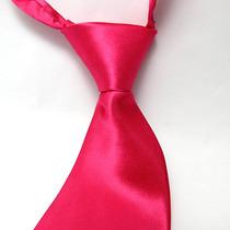Gravata Pink - Casamento, Festas, Bodas, Uniforme E Brinde