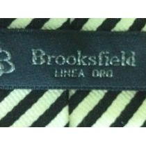 Gravata Brooksfield Made In Italy 100/ Seda