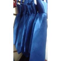 Gravata Infantil Azul Royal Com Nó