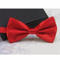 Gravata Borboleta Vermelha Importada C Regulador Casamento