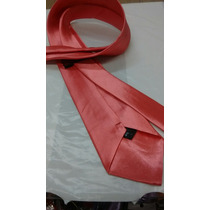 Gravata Coral Semi Slim