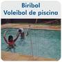 Rede Volei De Piscina Biribol- Rede 4 Metros Portátil