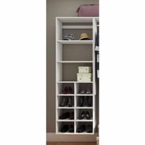 Closet Com Prateleiras E Nichos Kt608 - Super Closets