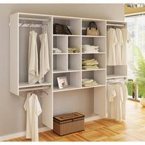 Closet Com Prateleira/cabides/nicho Kt2409 - Super Closets