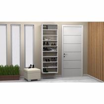 Closet Sapateira Branca Kt613 - Super Closets