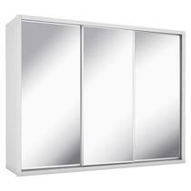 Guarda Roupa 3 Portas Com Espelho 8 Gavetas Údine 100% Mdf B
