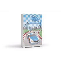 Roupeiro 3 Portas De Correr Kappesberg D340 - Azul (menino)