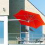 Ombrelone Wallflex - 2,70 Diâmetro - Vermelho - Frete Grátis