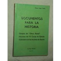 Documentos Para La Historia - Sinopsis Del Chaco(sebo Amigo)