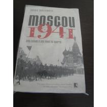 Livro Moscou 1941,ww2,feb,fab,marinha,top!segunda Guerra!