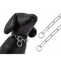 Colar Enforcador Elo Longo 69cmx0,4mm Para Cães Cachorros T4