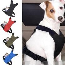 Cinto De Segurança Adaptável Para Cães Pet - Importado