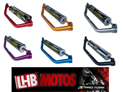 Guidão Alumínio Alto Pro Tork Universal Cross Coloridos