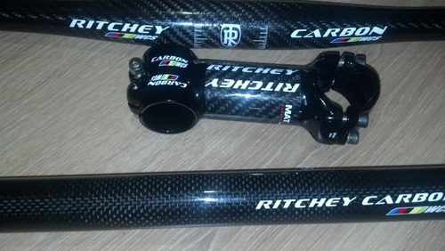 Guidão + Mesa + Canote De Fibra De Carbono Ritchey Kit