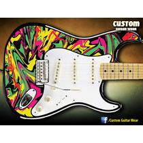 Adesivo Color Twist Para Guitarra, Baixo E Violão