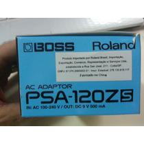 Fonte Pedal Pedaleira Afinador Ritmo Boss Psa-120z