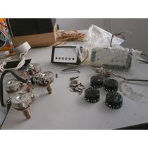 Captadores E Parte Eletrica Gibson Custom..kit Completo.usa