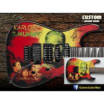 Mummy Esp - Kirk Hammet - Skin Para Guitarra, Baixo E Violão