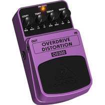 Pedal Behringer - Overdrive/distortion Od 300