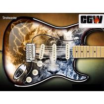 Angra Aqua Skin Adesivo Guitarra Violao Baixo