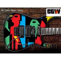 John Petrucci Skin Guitarra Viiolao Baixo Adesivo