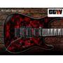 Skin Blood Sangue - Adesivo Guitarra Baixo E Violão
