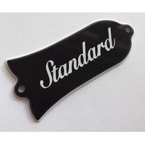 Truss Rod Cover Modelo Gibson Standard - Made In Japan