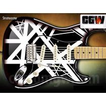 Evh Skin Adesivo Guitarra Violao Baixo Van Halen