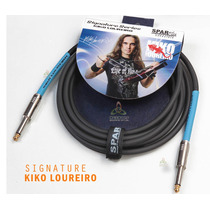 Cabo Sparflex P/ Guitarra Kiko Loureiro 3 Metros Signature