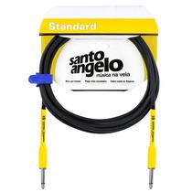 Cabo Para Guitarra Santo Angelo - Modelo Samurai - 6,10m