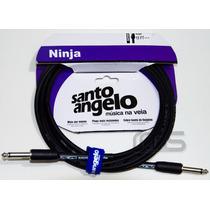 Cabo Guitarra Santo Angelo Ninja P10 X P10 15ft 4.57m 08551