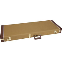 Case Para Guitarra Tele/stratocaster Pro Series Tweed Fende