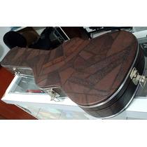 Hard Case Deluxe Marrom Para Guitarra Stratocaster - Novo!!