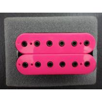 Captador Braço Malagoli Custom Hb6 Pink Enrolado A Mão