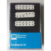 Seymour Duncan Everything Axe Set - Brancos Para Strato
