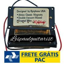 Captador Epiphone Classic 57 Dourado Humbucker Frete Grátis