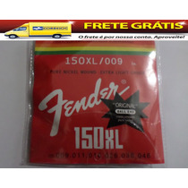 Encordoamento Fender 150 Xl 0.09 Made In México Ball End