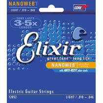 Encordoamento Elixir Nanoweb 0.10- Guitarra