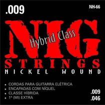 Encordoamento Nig P/guitarra Hibrid Class .009