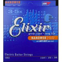 Encordoamento Guita Elixir 010 Nano - Alanis Mania Musical