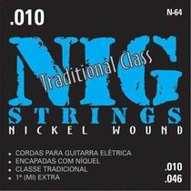 Encordoamento Nig P/guitarra Hibrid Class .010
