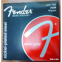 Encordoamento Cordas Guitarra Fender 010 Original