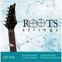 Jogo De Cordas Guitarra Roots 838 (nig, D`addário, Elixir )