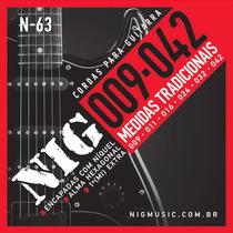 Encordoamento Corda Guitarra 09 Nig N63 Tradicional
