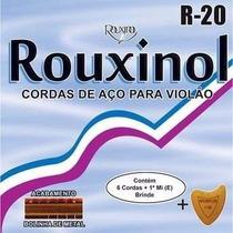 Encordoamento Rouxinol Para Violao Em Aço - Cordas R20