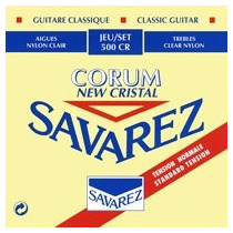 Cordas Savarez Corum New Cristal Tension Normale Nylon 500cr