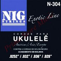 Encordoamento Cordas Nig P/ Ukulelê - N304 | 0.0252 - 0.028