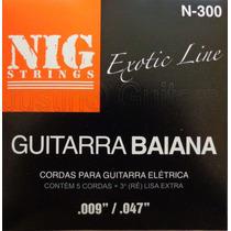 Cordas Nig Para Guitarra Baiana - N300 - .009 - .047